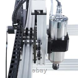 2.2KW CNC Router Machine 1000x1000mm 3 Axis Screw Driven DIY CNC Engraving Mill