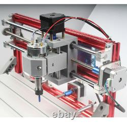 3018 CNC Engraving Machine 3Axis PCB Wood Carving DIY Milling Kit Laser Router