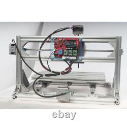 3Axis 3018 Engraving Router & 5.5W Laser Module CNC Carving DIY Milling Machine