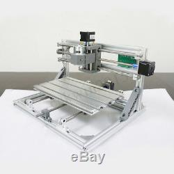 3 Axis 3018 CNC Machine Wood Engraving Mini DIY Router Standard Spindle Motor
