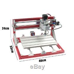 3 Axis 3018 Pro CNC Wood Engraving Carving PCB Milling Machine GRBL Control DIY
