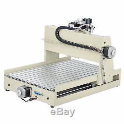 3 Axis CNC 3040 Router Engraver DIY 3D Engraving Drilling Milling Machine 400W