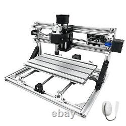 3 Axis CNC Router Kit 3018 DIY Wood Acrylic PVC Milling Carving GRBL Control USB