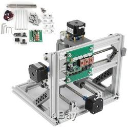 3 Axis DIY 2418 CNC Router PCB Laser Milling Carving Engraving Machine 24x18x4CM