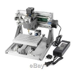 3 Axis DIY 2418 Engraving CNC Router PCB Milling Carving Machine 775 Spindle