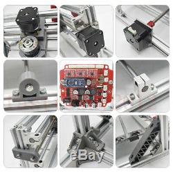 3 Axis DIY CNC & Laser Engraving Router Carving PCB Wood Milling Cutting Machine