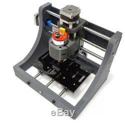 3 Axis DIY CNC Router Kit PCB Milling Wood Carving Engraving Machine 1208 USB