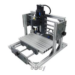 3 Axis Mini DIY CNC Mill Router USB Desktop Metal Engraver PCB Milling Machine