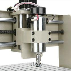 400W 3040 USB 3-AXIS CNC Router Engraver Milling Metal Machine DIY 3D Cutter
