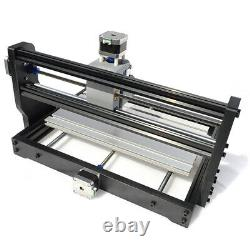 5500mw Laser CNC 3018 PRO Router 3 Axis Engraving PCB Wood DIY Milling+Offline