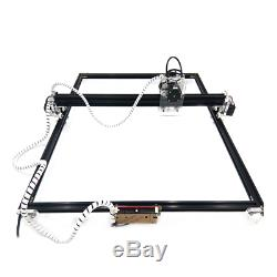 6565cm 0.5W-15W CNC Laser Engraving Machine 2Axis 12V DIY Wood Router Cutter