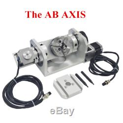 800W CNC Router 3040 5axis Router Engraving Carving Metal Milling DIY Machine