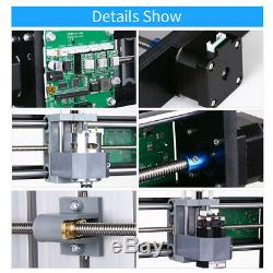 CNC3018 DIY Router Kit 2-in-1 Engraving Machine 3 Axis with ER11 Collet Z8Y3