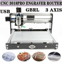 CNC3018 PRO DIY CNC Router Kit 2in1 Laser Engraving 3 Axis Router Machine GRBL