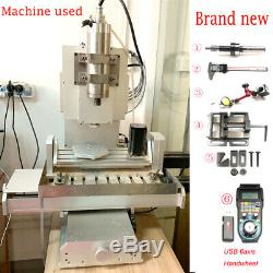 CNC 220V 3040 5axis Engraving Carving Machine Metal Milling Router DIY Machine