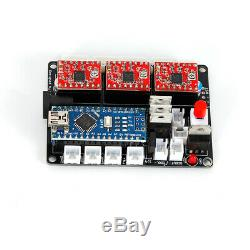 CNC 3018 3Axis PRO Machine Router Engraving PCB Wood DIY Milling Engraver WithER11