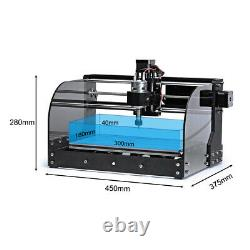 CNC 3018 3 AXIS Engraving Machine Mini DIY Wood Router With GRBL Control+laser