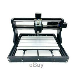 CNC 3018 PRO 3 Axis Engraving Machine Router Mill PCB Wood DIY+5500mw Laser USED