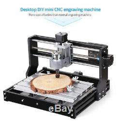 CNC 3018 PRO Machine Router 3Axis Engraving PCB Wood DIY Milling Engraver X1B9