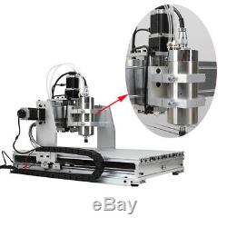 CNC 6040 4axis 1500W Router Desktop Engraving Drilling Milling Al DIY Machine