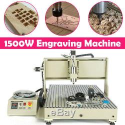 CNC 6090 1500W 3 Axis USB Router Metal Engraving Cutting Drilling DIY Machine 3D
