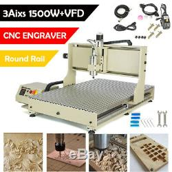 CNC 6090 3axis 1500W Milling Engraver Cutter Machine USB CNC DIY Router US Stock