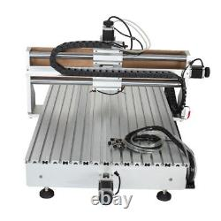 CNC Router 6090 4axis 2.2KW USB Port Milling Engraving DIY CNC Cutting Machine
