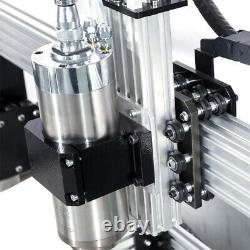 CNC Router Machine 1000x1000mm 3 Axis Screw Driven DIY CNC Engraving Mill 2.2 KW