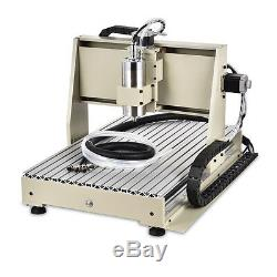 DIY 6040 CNC Engraver Engraving machine 1500W 3Axis Carver Cutter Drill Mill VFD