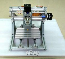 DIY Mini 3-Axis CNC Router Engraver Carving Machine for PCB PVC Milling Wood US