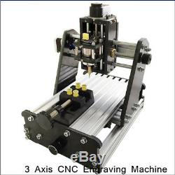 DIY Mini 3 Axis CNC Router Wood PCB Milling Carving Engraving Machine Desktop