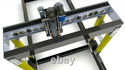 Five 5 axis CNC router plans for marine and furniture industries (CAD files DIY)