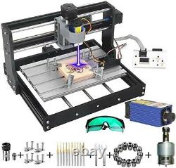MYSWEETY DIY CNC 3018-PRO 3 Axis CNC Router Kit with 7000mW