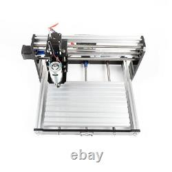 Pro 3018 3 Axis Mini DIY CNC Router Spindle Motor Wood Engrave Milling Machine