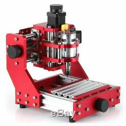 Red 1310 3 Axis Mini DIY CNC Router Standard Spindle Motor PCB Wood Metal Laser
