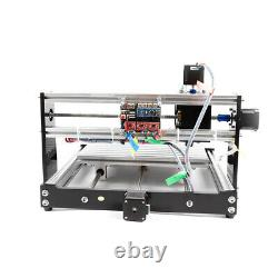 Router 3 Axis Laser Engraving Carving CNC DIY Milling Machine GRBL Control USB