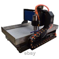 Steel Structure CNC Router 6040 3Axis 2.2KW CNC Engraving Machine &Handwheel DIY