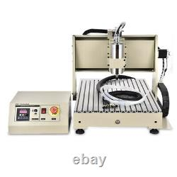 USB 4 AXIS 6040 CNC Router Engraver Milling Machine DIY Engraving Drilling 1500W